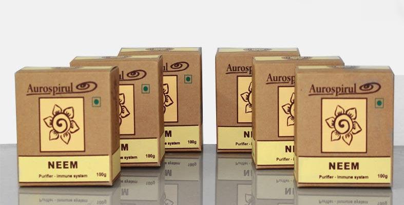 Aurospirul organic certified Neem powder 6-pack - 6 x 100g