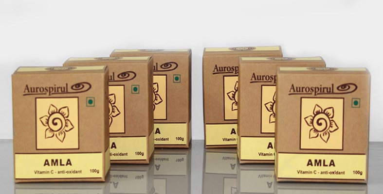 Aurospirul organic certified Amla powder 6-pack - 6 x 100g