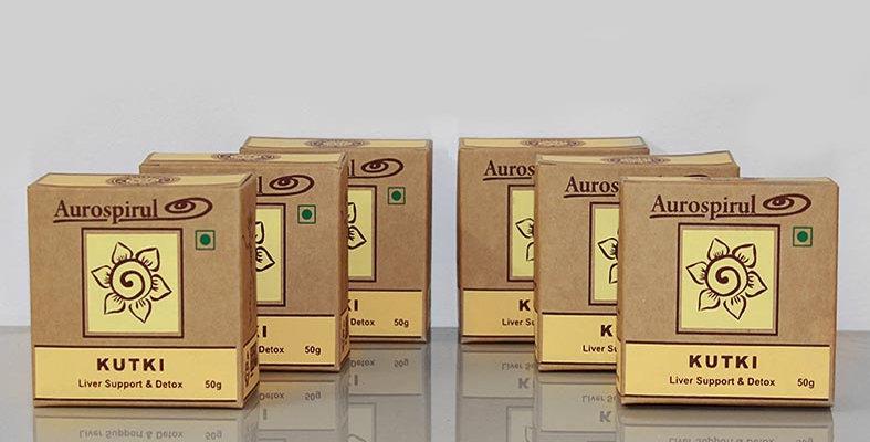 Aurospirul organic certified Kutki powder 6-pack - 6 x 50g