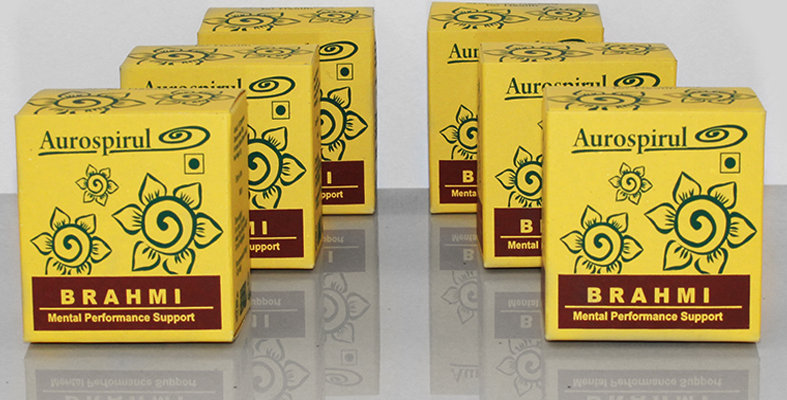 Aurospirul organic certified Brahmi capsules 6-pack - 6 x 100 capsules