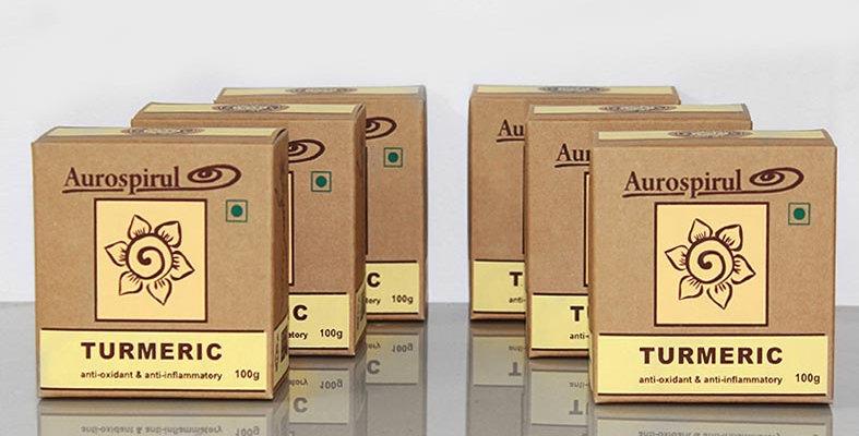 Aurospirul organic certified Turmeric powder 6-pack - 6 x 100g