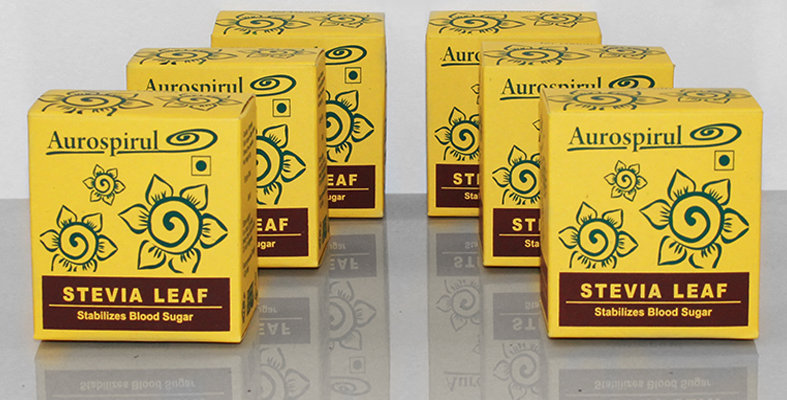 Aurospirul organic certified Stevia capsules 6-pack - 6 x 100 capsules