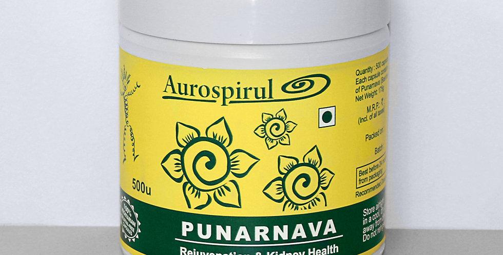 Aurospirul Punarnava - 500 Veg Capsules