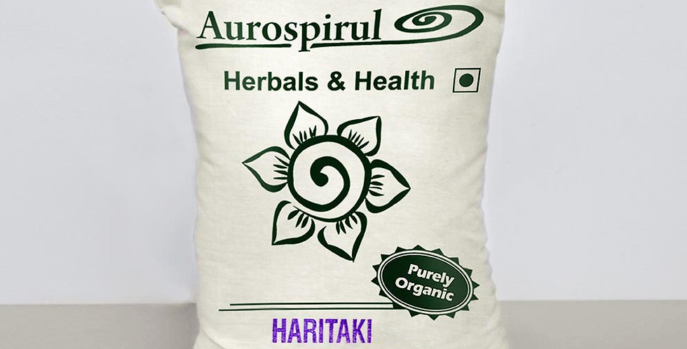Aurospirul organic certified Haritaki Powder 500g
