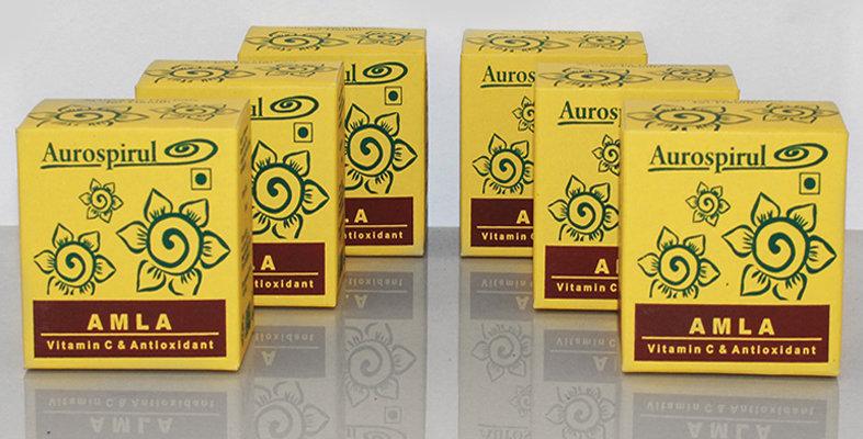 Aurospirul organic certified Amla capsules 6-pack - 6 x 100 capsules
