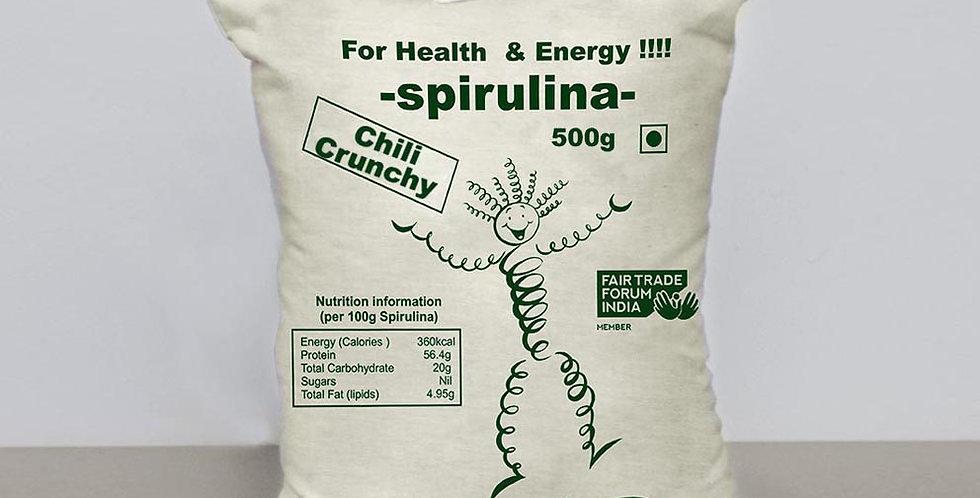 Sun-Dried Spirulina Chilli Crunchy 500g