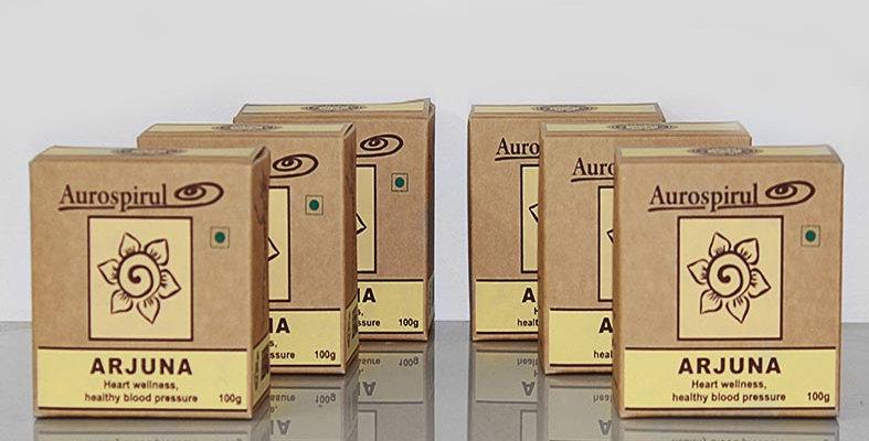 Aurospirul organic certified Arjuna powder 6-pack - 6 x 100g
