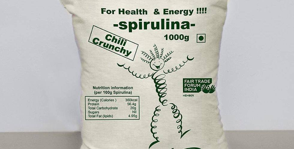 Spirulina Crunchy with Chilli  1kg