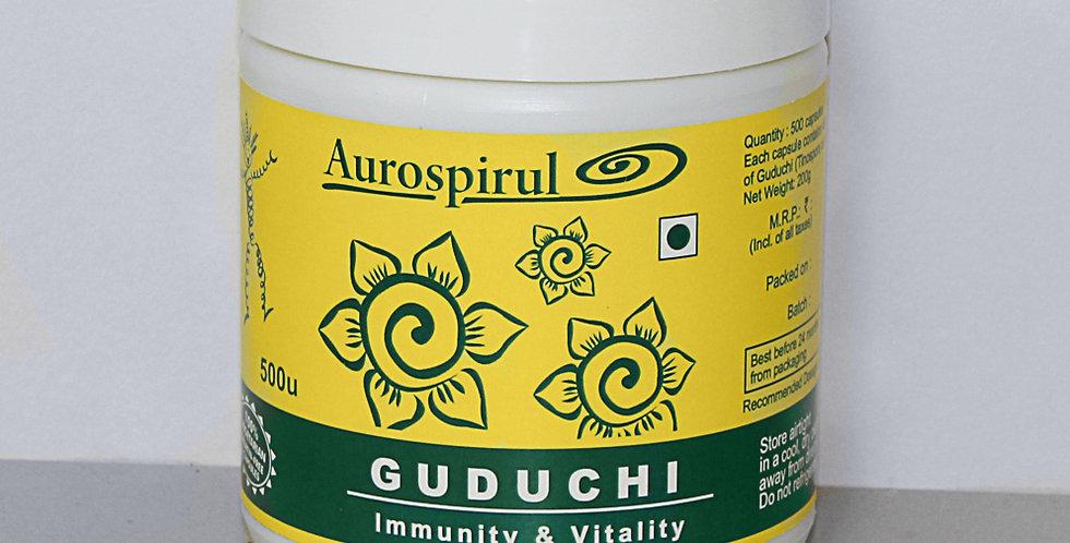 Aurospirul Guduchi - 500 Veg Capsules
