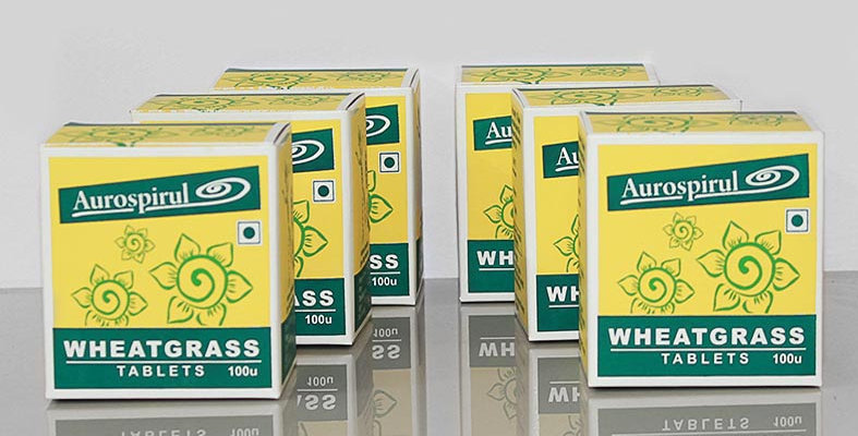 Aurospirul Wheatgrass tablets 6-pack - 6 x 100 tablets
