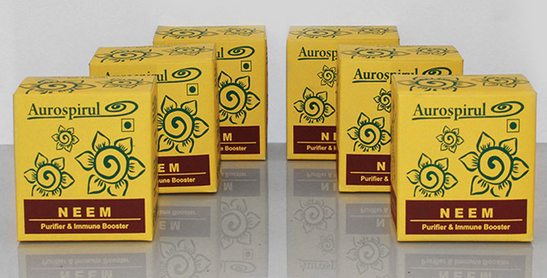 Aurospirul organic certified Neem capsules 6-pack - 6 x 100 capsules
