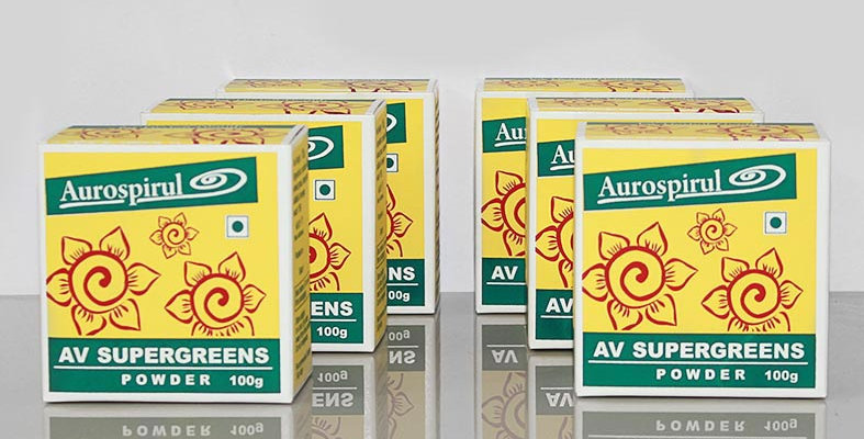 Aurospirul Av Supergreens powder 6-pack - 6 x 100g