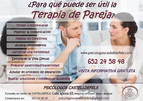 TERAPIA DE PAREJA EN CASTELLDEFELS