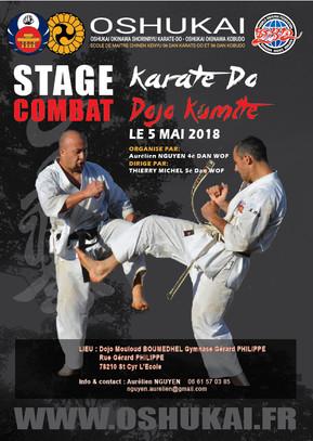 Dojo Kumite karate à Saint Cyr L'école