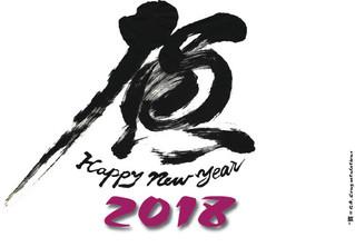 Vœux 2018 de sensei CHINEN