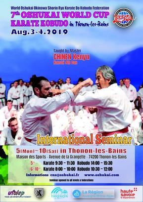 7ème Coupe Internationale Oshukaï de Karate Shorin Ryu et de Kobudo d'Okinawa