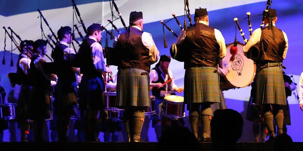 Utah Pipe Band St Patrick's Day Concert