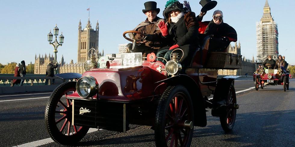 London to Brighton Veteran Car Run 2020