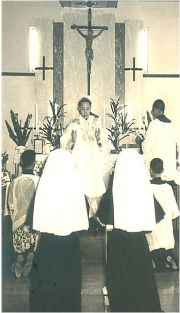 初學修女奉獻彌撒