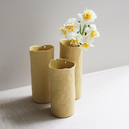 Bud Vases - Yellow