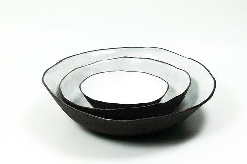 Ceramic Serving Bowl - Black