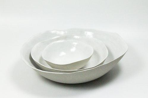 Ceramic  Serving Bowl - White