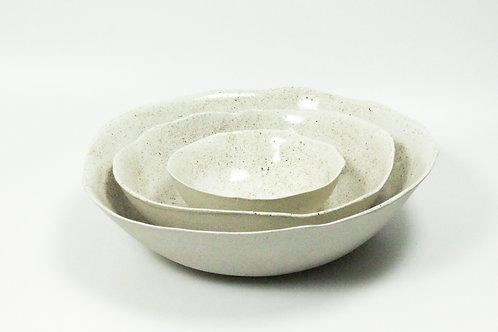 Ceramic Serving Bowl - Speckled