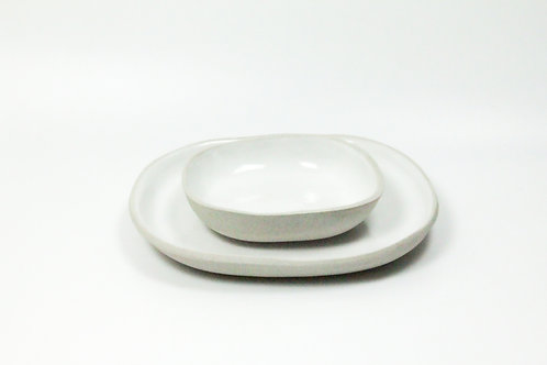 Serving Dinner Plate & Bowl Set