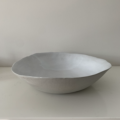 Ceramic  Serving Bowl - White