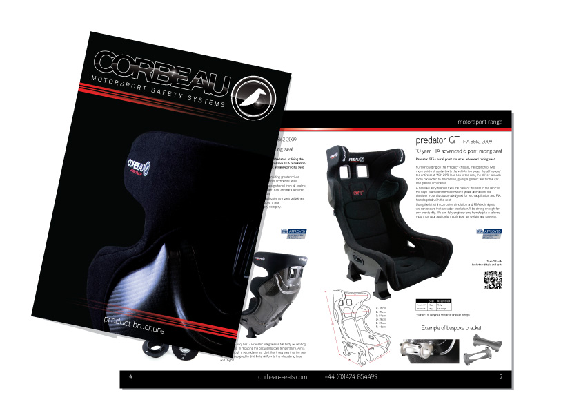 Corbeau Seats 2020 Brochure
