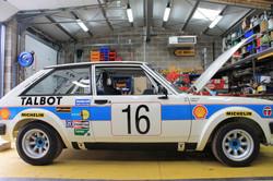 Talbot Rally Car