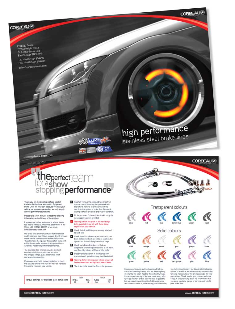 Product leaflet