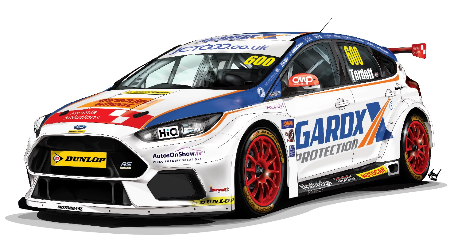 2018 BTCC illustration