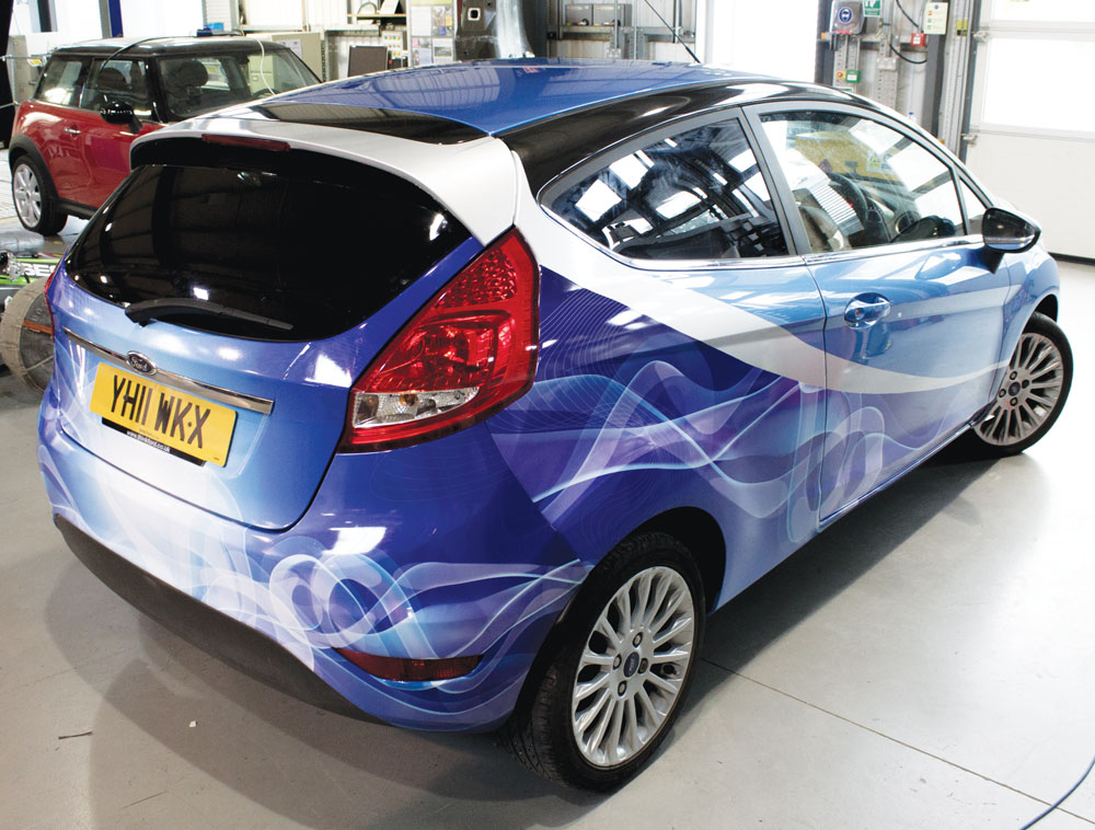 Ford Focus part wrap