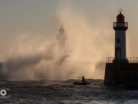 Coup de vent du 29-30 mars 2020 Belle Ile en mer pendant la pandémie (coronavirus).