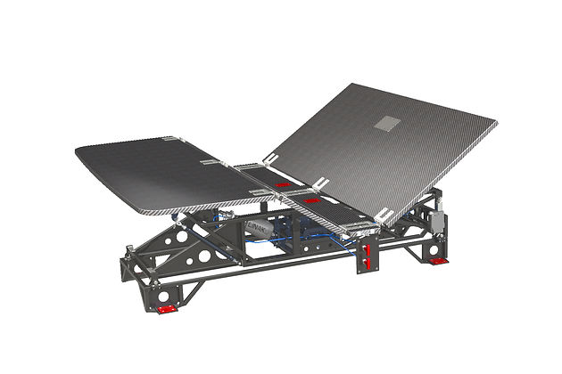 Electrical Bed Kinematic (full featured)