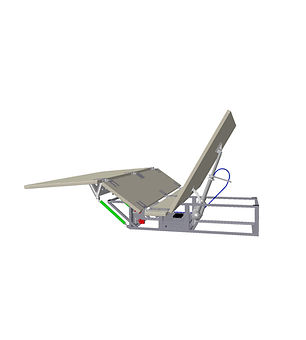 Electrical Bed Kinematic (backrest and leg rest)