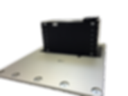 Low-Stow HI-LO Single Table Pedestal