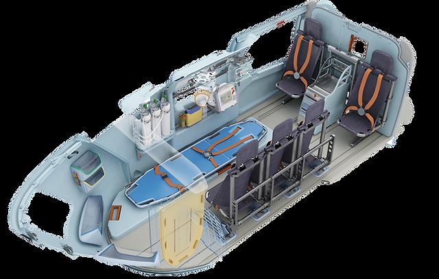 EC 145 Stretcher System