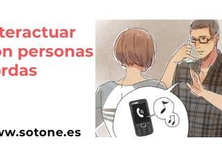 Pautas para interactuar con las personas sordas