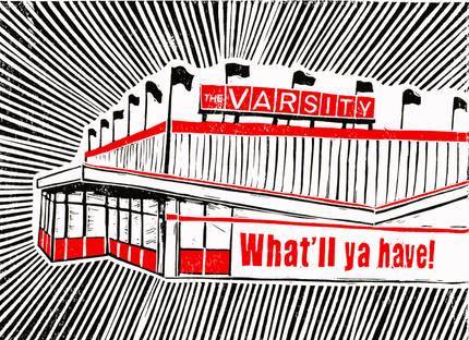 The Varsity, Athens GA