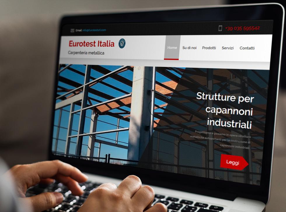 Sito Web carpenteria eurotestsrl.com