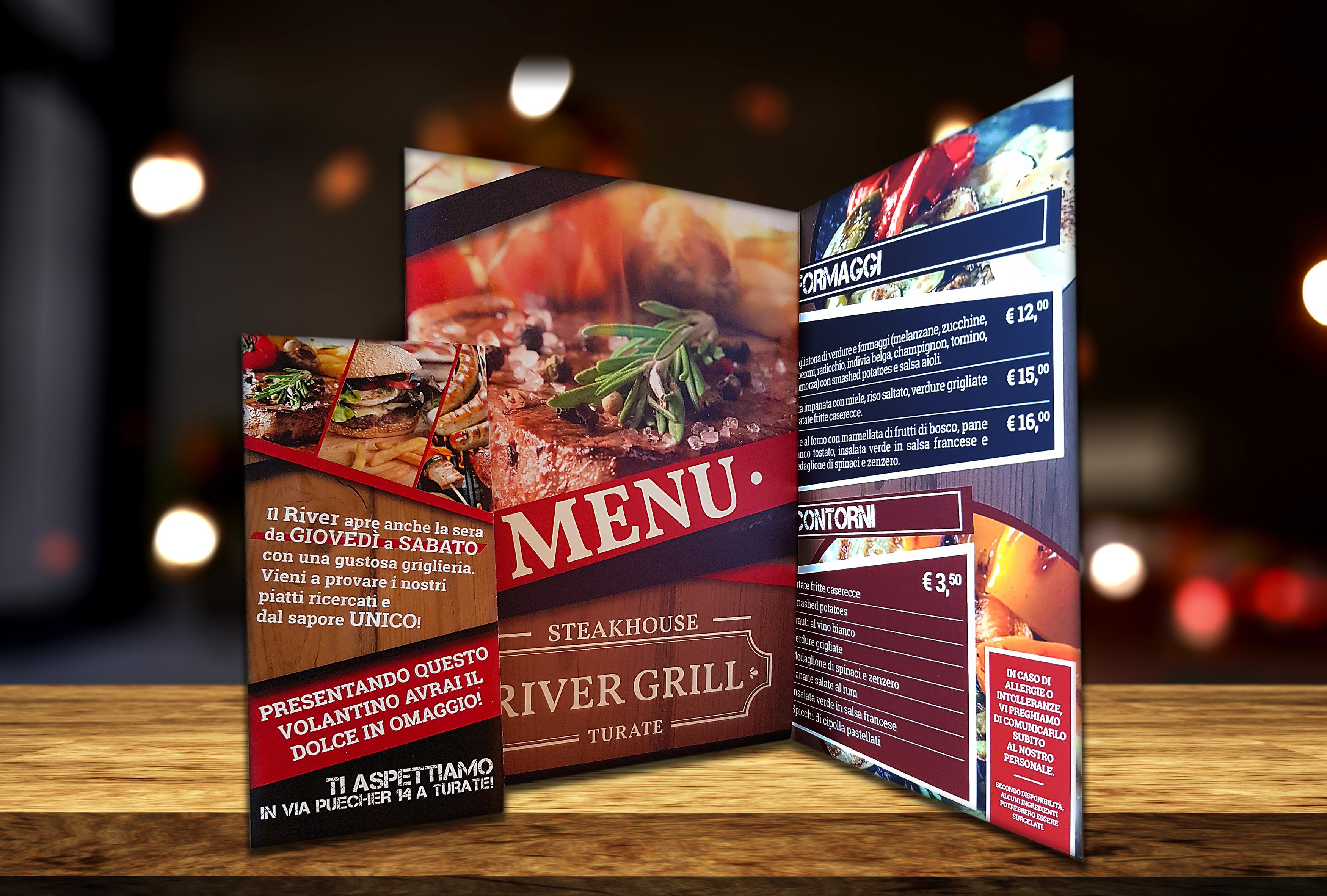 Menù River Grill