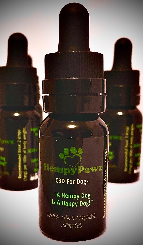 Hempy Pawz CBD For Dogs HempyPawz.com