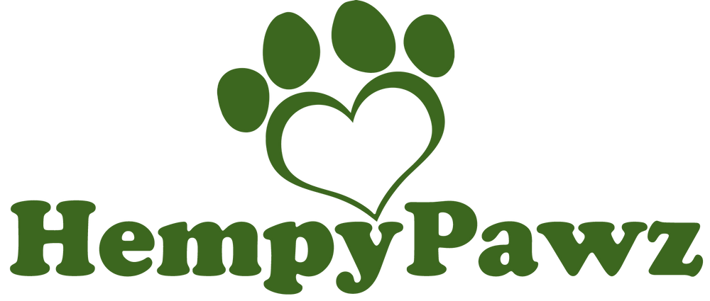 """A Hempy Dog Is A Happy Dog!"" CBD Oil For Dogs available at HempyPawz.com"