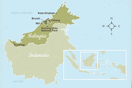 Map of Malysia