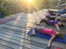 Yoga in Borneo, Malaysia