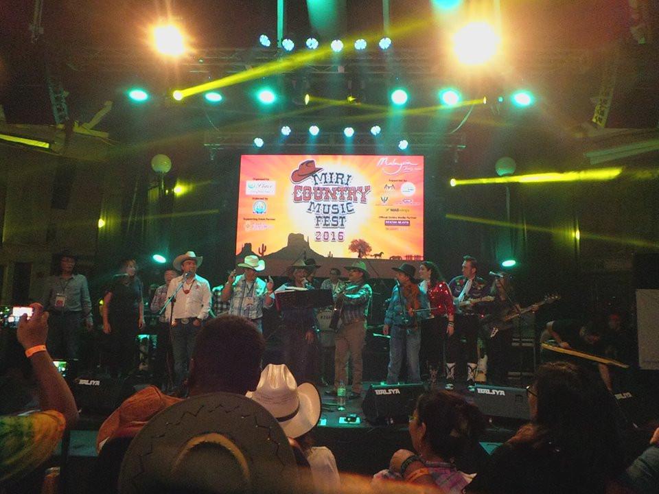 Miri Country Music Festival, Miri, Borneo