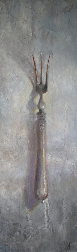 Zilver vorkje 110 x 35 (verkocht)