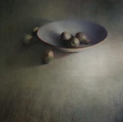 Bord met peren 120 x 120
